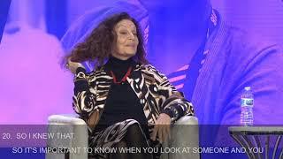 #19WIP: Diane Von Furstenberg In Conversation With Fidji Simo - Opening Keynote