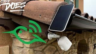 Arlo Ultra - Solar Panel Review and GIVEAWAY