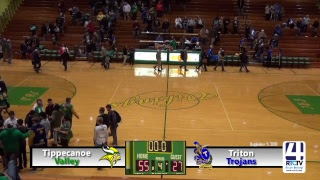 Tippecanoe Valley Girls Basketball vs Triton