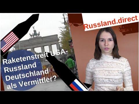 Raketenstreit USA-Russland: Deutschland als Vermittler? [Video]