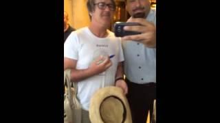 Gary Daly CHINA CRISIS Signing Autographs Team Derek 2