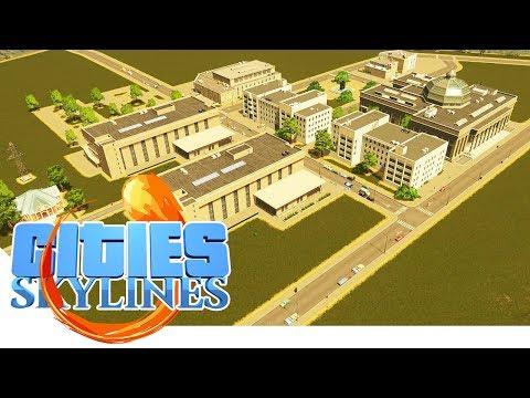 Unsere neue Uni in der Katastrophenstadt! - Cities Skylines - Apocalypse City 14