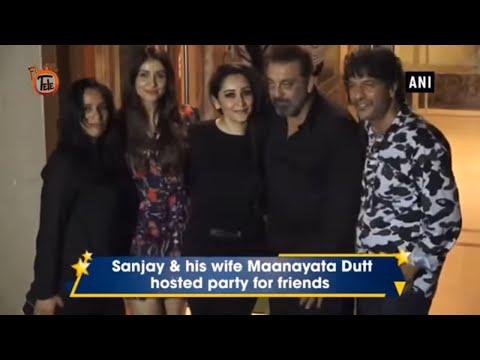 Sanjay Dutt's birthday Bash Turns Into Celeb's Show
