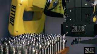 ZOLLER »roboSet2« - Automationslösung für hohen Werkzeugdurchsatz