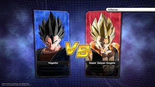 DB Xenoverse 2 - Combates #6 Vegetto Vs. Gogeta
