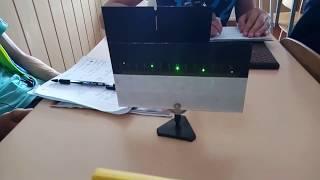 ФІЗИЧНИЙ ПРАКТИКУМ, 11 кл, Визначення довжини світлової хвилі лазера