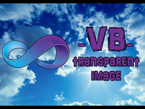 Visual Basic 2008/2010 - Transparent Image [PictureBox] [VB Tutorial] [#17]