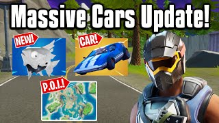 All The *NEW* Changes From The Cars Update! - Fortnite Season 3!