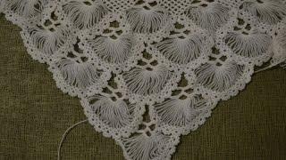 """""""Турецкая шаль, связанная на карточке"""" (Turkish shawl, tied on the card. full version)"""