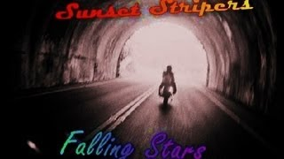 Sunset Stripers Falling Stars