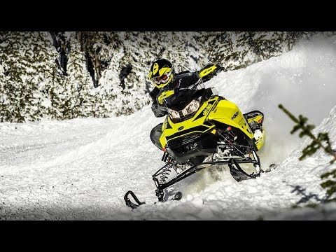 2020 Ski-Doo MXZ X 600R E-TEC ES Adj. Pkg. Ice Ripper XT 1.25 in Yakima, Washington - Video 1