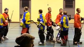 preview picture of video 'Roller Sports Lambersart - Match de Hockey (12/01/2014) 3/4'