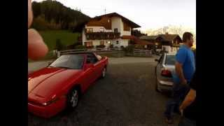 preview picture of video 'GoPro HD Hero 2 1080p test shot - Volvo 200ps crazy driving on mountains in Austria'