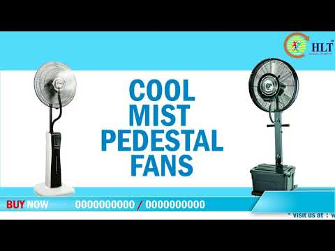 HLT Perfect Cool Humidifier Mist Fan