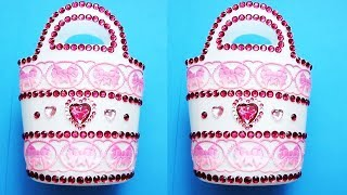 Easy DIY Idea Using Plastic Bottles Making Crafts With Step By