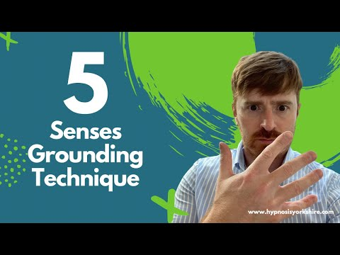 Stop an Anxiety/Panic Attack with the 5 Senses Grounding Technique