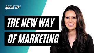 The New Way of Marketing is TRUST
