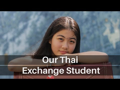 Meeting Our Exchange Student From Thailand