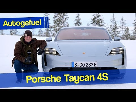 "Is this ""entry version"" of the Porsche Taycan EV just fine? Porsche Taycan 4S snow REVIEW"