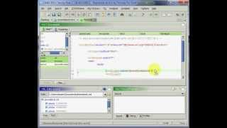 Create an XSLT document with Drag'n Drop using EditiX XML Editor