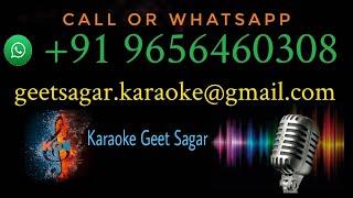 Dekha Na Haye Re Socha Na Karaoke With Lyrics   Kishore