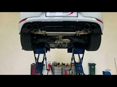 Volkswagen Golf 7R w/ iPE Cat-back Exhaust