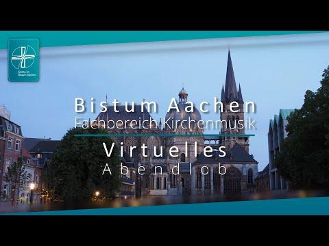 Virtuelles Abendlob im Bistum Aachen in der Coronazeit