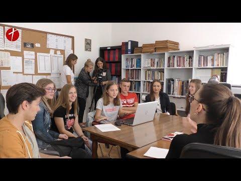 Učenici iz Žepča u ulozi novinara
