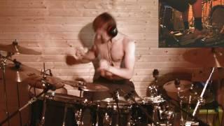 Divine Heresy - Facebreaker  -  Drumcover by Ukri 'Uge' Suvilehto