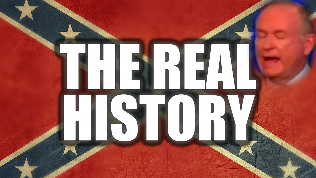 Disturbing Racism Behind The Confederate Flag, Bill O'Reilly Disagrees thumbnail