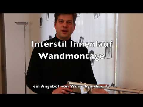 Interstil Innenlaufgarnitur Wandmontage
