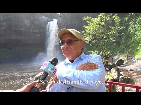 Cascada Blanca; destino místico en las montañas de Matagalpa