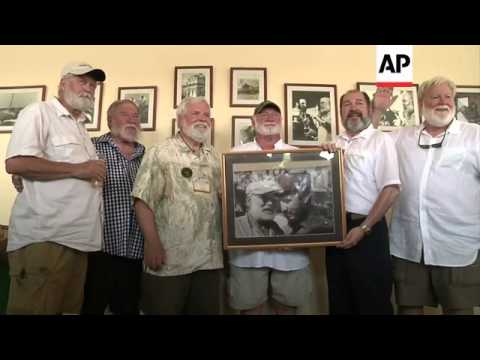 Lookalikes of famed author pay tribute at the 14th International Hemingway Colloquium