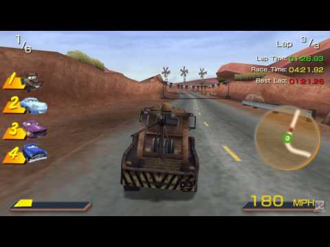 Cars PSP Gameplay HD