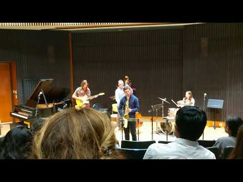 Stanford Jazz Institute combo performance 2018