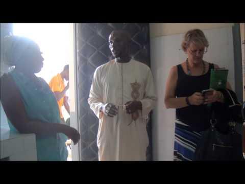 Visite de terrain de la représentante résidente de l'UNFPA Andrea Wojnar Diagne au CCA de Louga