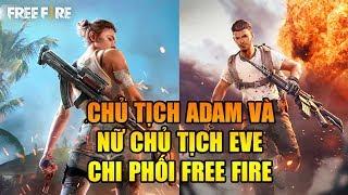 Free Fire | Chủ tịch Adam và nữ chủ tịch Eve chi phối Free Fire | Rikaki Gaming