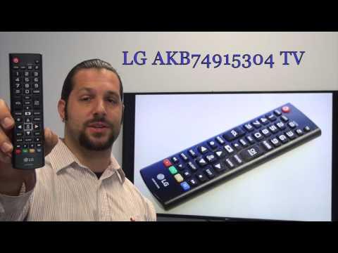 LG AKB74915304 TV Remote Control