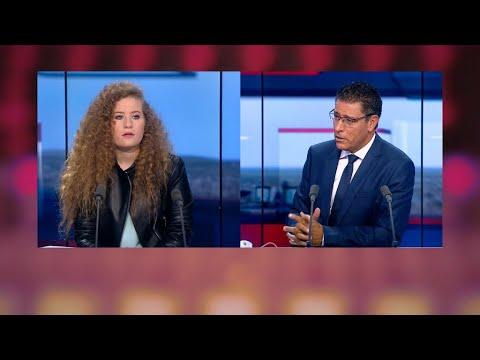 العرب اليوم - شاهد: الناشطة الفلسطينية عهد التميمي تكشف أسرار اعتقالها بالصوت والصورة