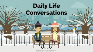 Actions - Daily Life & Work - 04 - English Lessons for Life - Daily English Lessons