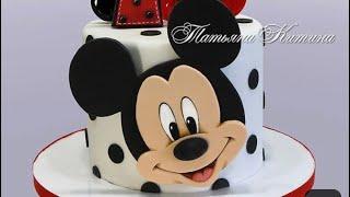 افكار لعمل كيكة الميكي ماوس . Ideas to make Mickey Mouse cake