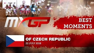 MXGP Best Moments - MXGP of Czech Republic 2018 #motocross