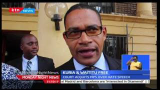 Moses Kuria and Ferdinand Waititu acquited of hate speech charges