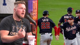 Pat McAfee's Thoughts On The World Series