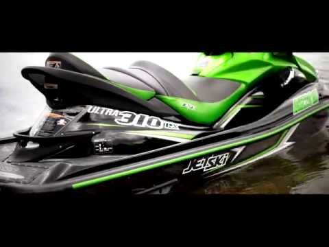 2015 Kawasaki Ultra 310LX/R Jet Ski Promo Video