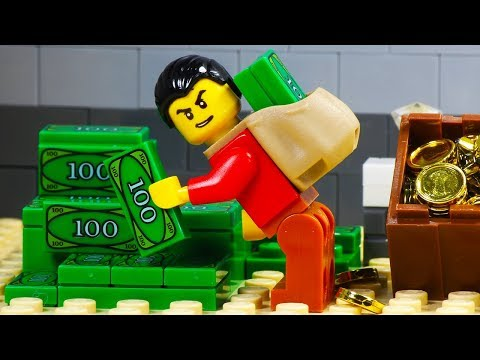 Lego Bank Robbery - Tunnel