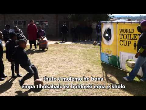 EU Water Facility funded school sanitation project in Lesotho