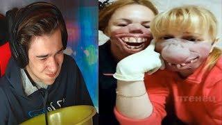 Самое смешное видео в мире. Попробуй не засмеяться с водой во рту челлендж ч. 124