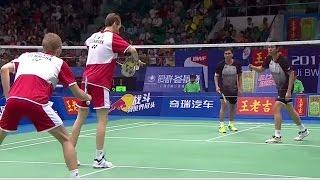 M.Boe/C.Mog. v M.Ahsan/H.Setiawan |MD-F| Wang Lao Ji BWF World Champ. 2013