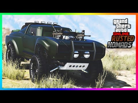 GTA Online The Rusted Nomad DLC Update Concept - NEW Mechanic Shop, Crouching, Off Road Cars & MORE!
